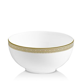 Wedgwood - Vera Lace Gold Soup/Cereal Bowl