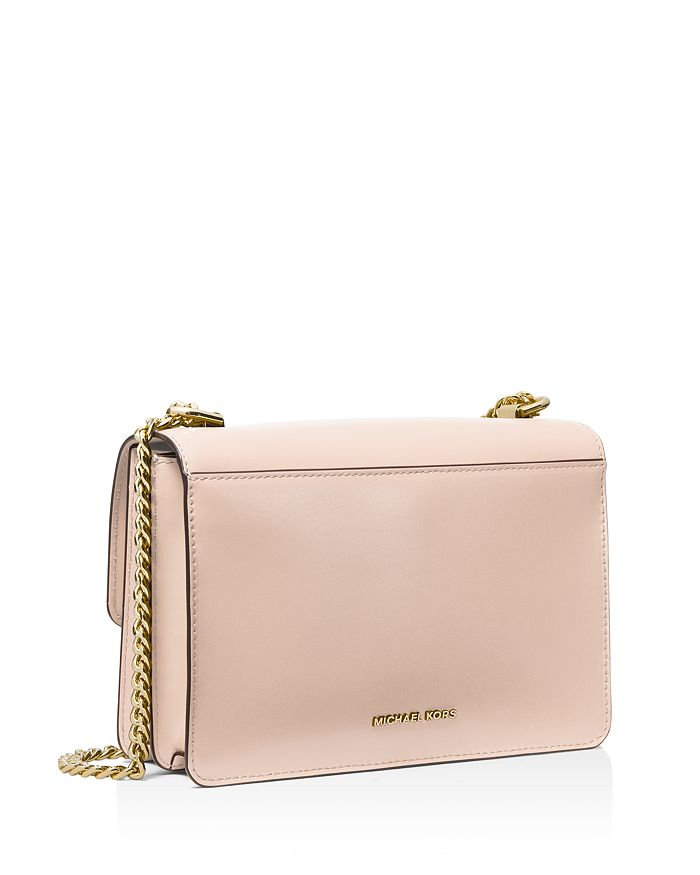 5ebfc42de568 MICHAEL Michael Kors Large Jade Gusseted Leather Shoulder Bag ...