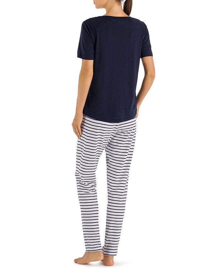 63709f6f72 Hanro Laura Short Sleeve Long Pajama Set | Bloomingdale's