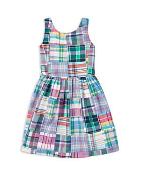 Ralph Lauren - Girls' Patchwork Madras Dress - Little Kid