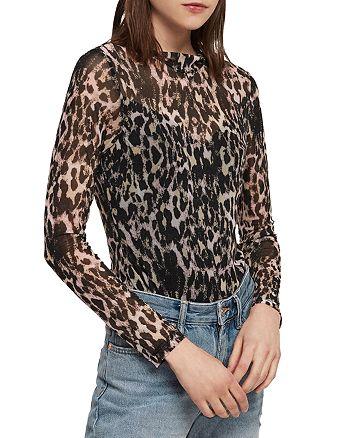 ALLSAINTS - Elia Leopard Print Bodysuit
