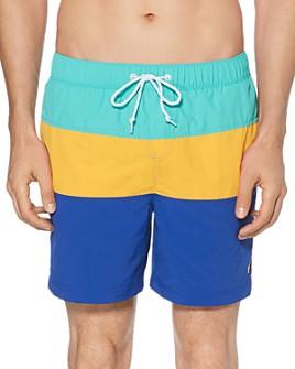 Original Penguin - Daddy Color-Block Swim Shorts