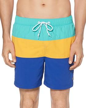 b31b1c44c Original Penguin - Daddy Color-Block Swim Shorts ...