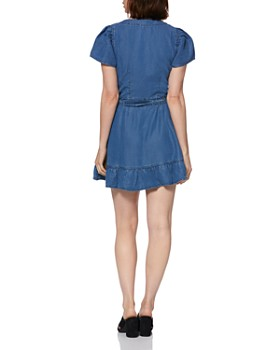 PAIGE - Alyse Chambray Wrap Dress - 100% Exclusive