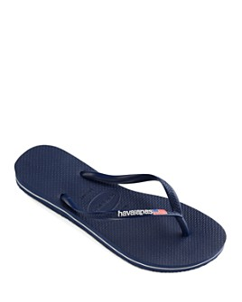 havaianas - Women's Slim USA Logo Flip-Flops
