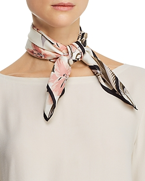 Echo Accessories TROPICAL PALMS SILK SCARF