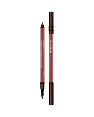 What It Is: A highly pigmented, richly emollient and long-wearing pencil with a blending brush. What It Does: - The creamy formula glides on smoothly and resists smudging or feathering - Polymers adhere to the skin and have water-resistant qualities - Intense color payoff delivers continuous all-day wear - Equipped with a blending brush to perfect and evenly distribute product Ingredients: Polyethylene, Isododecane, Peg-8 Beeswax, Polybutene, Polycyclopentadiene, Hydrogenated Coconut Acid, Mica,