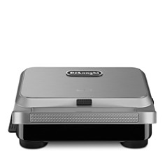 De'Longhi - De'Longhi Livenza Compact Grill, Griddle, Panini Press & Waffle Maker