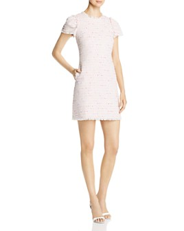 kate spade new york - Fringe-Trimmed Mini Dress
