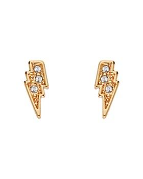 9ca58dd993 KARL LAGERFELD Paris - Mini Rocky Lightning Bolt Earrings ...