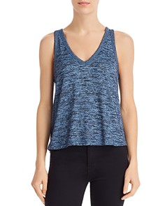 rag & bone/JEAN - Ramona Space-Dye Knit Tank