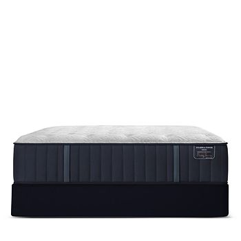 Stearns & Foster - Hurston Luxury Firm Split Queen Mattress & Box Spring Set