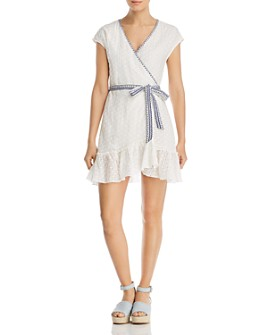 Johnny Was - Leafar Eyelet Wrap Dress