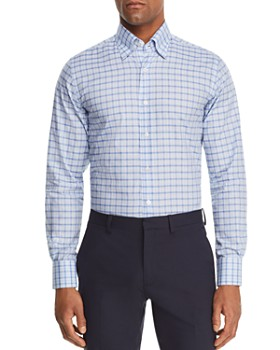 Canali - Mélange Check Regular Fit Sport Shirt