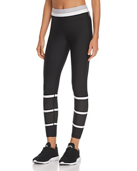 All Fenix - Looper Striped Detail Leggings
