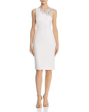 Aidan Mattox - Asymmetric Embellished Dress