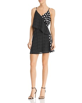 Alpha and Omega - Mixed Polka Dot Dress