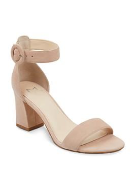 Marc Fisher LTD. - Women's Karlee Suede Block Heel Sandals