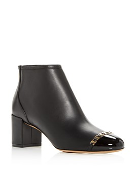 Salvatore Ferragamo - Women's Atri Cap-Toe Booties