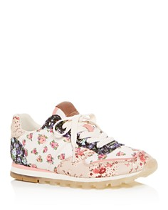 COACH - Women's C118 Floral Print Low-Top Sneakers