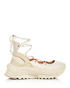 COACH - Women's Lace-Up Platform Sneakers