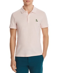 Lacoste - Logo-Embroidered Regular Fit Piqué Polo Shirt