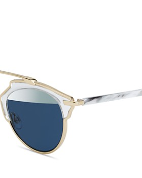 Dior - Women's So Real Split Lens Mirrored Sunglasses, 48mm