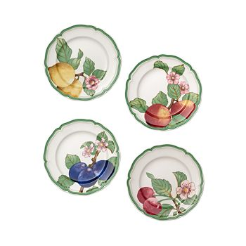 Villeroy & Boch - French Garden Modern Fruit Salad Plates, Set of 4