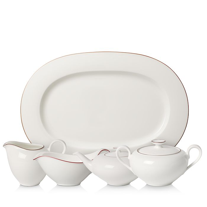 Villeroy & Boch - Anmut Rosewood Serveware Collection - 100% Exclusive