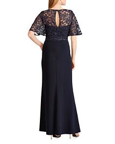 Ralph Lauren - Lace-Overlay Gown