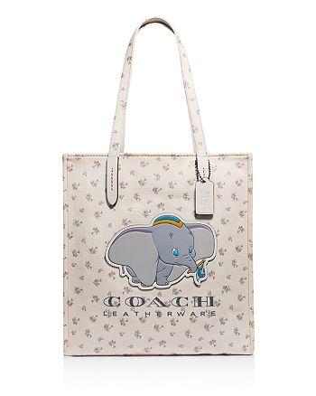 d90fd8c058185 COACH Disney x COACH Dumbo Canvas Tote