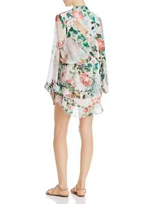 Rococo Sand - Floral Blouson Mini Dress