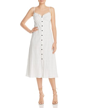 leRumi - Lyra Button-Down Cotton Midi Dress