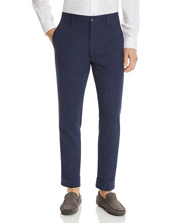 Zanella - Noah Mélange Solid Slim Fit Dress Pants