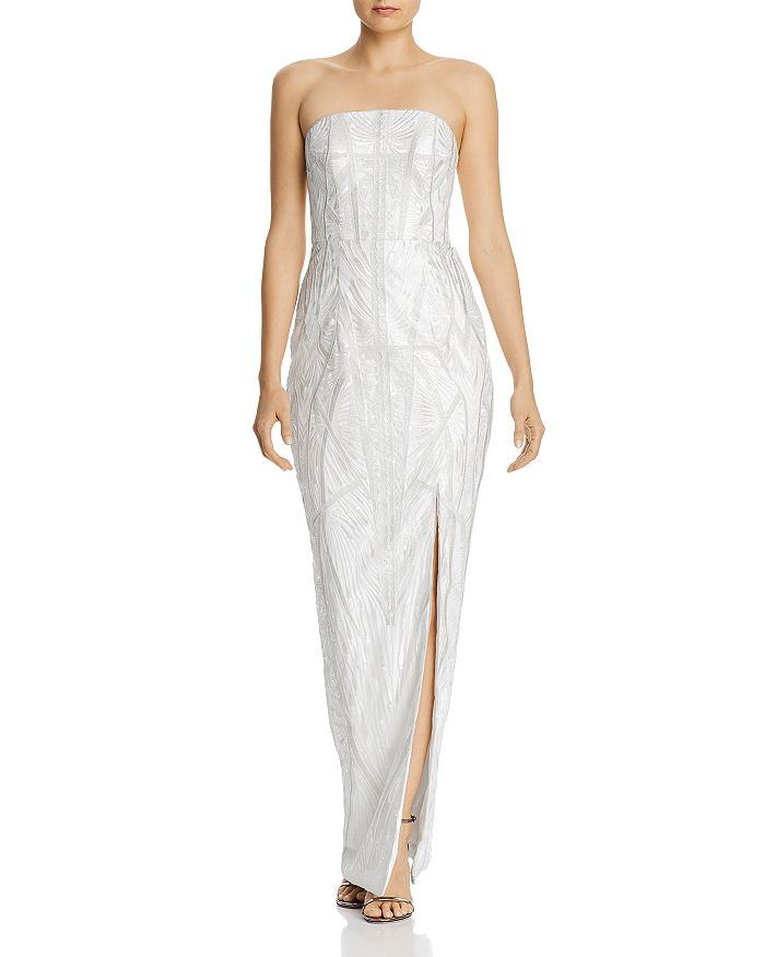 Bariano - Kristin Strapless Embroidered Gown - 100% Exclusive