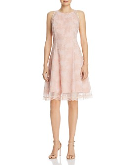 nanette Nanette Lepore - Embroidered Mesh Dress