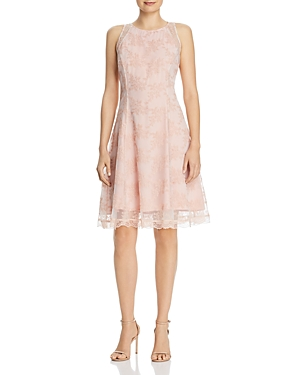Nanette Lepore Dresses NANETTE NANETTE LEPORE EMBROIDERED MESH DRESS