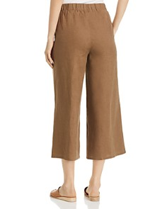 Eileen Fisher Petites - Cropped Organic Linen Pants