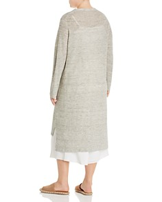 Eileen Fisher Plus - High/Low Duster Cardigan