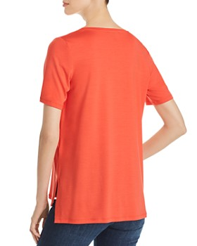 Eileen Fisher - V-Neck High/Low Tee