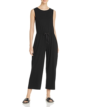 Eileen Fisher Suits CROPPED WIDE-LEG JUMPSUIT