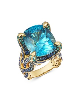 JOHN HARDY - 18K Gold Cinta Kalpa One-of-a-Kind Ring with Multi-Colored Gemstones - 100% Exclusive
