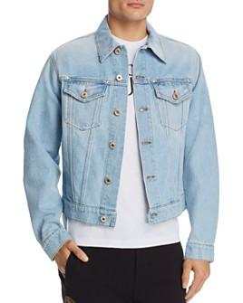 Versace Jeans Couture - Logo-Patch Denim Jacket