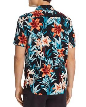 RVCA - Montague Short-Sleeve Floral-Print Slim Fit Shirt