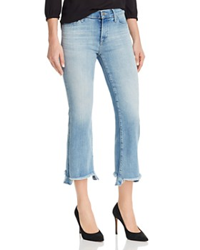 J Brand - Selena Mid Rise Crop Bootcut Jeans in Orion