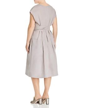 Lafayette 148 New York Plus - Remington Cap-Sleeve Dress