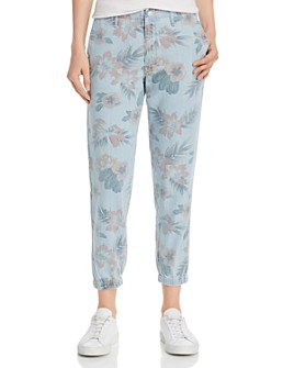 MOTHER - The Misfit Tropical Jogger Pants