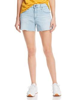 AG - Hailey Cutoff Denim Shorts in 26 Years Sanguine