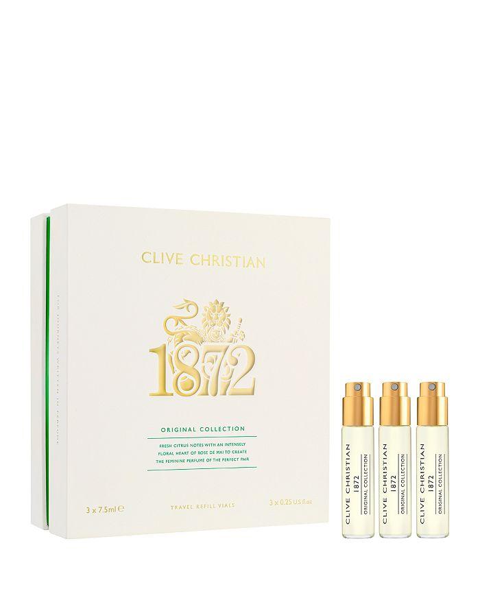 Clive Christian - Original Collection 1872 Feminine Travel Refill Vial Set