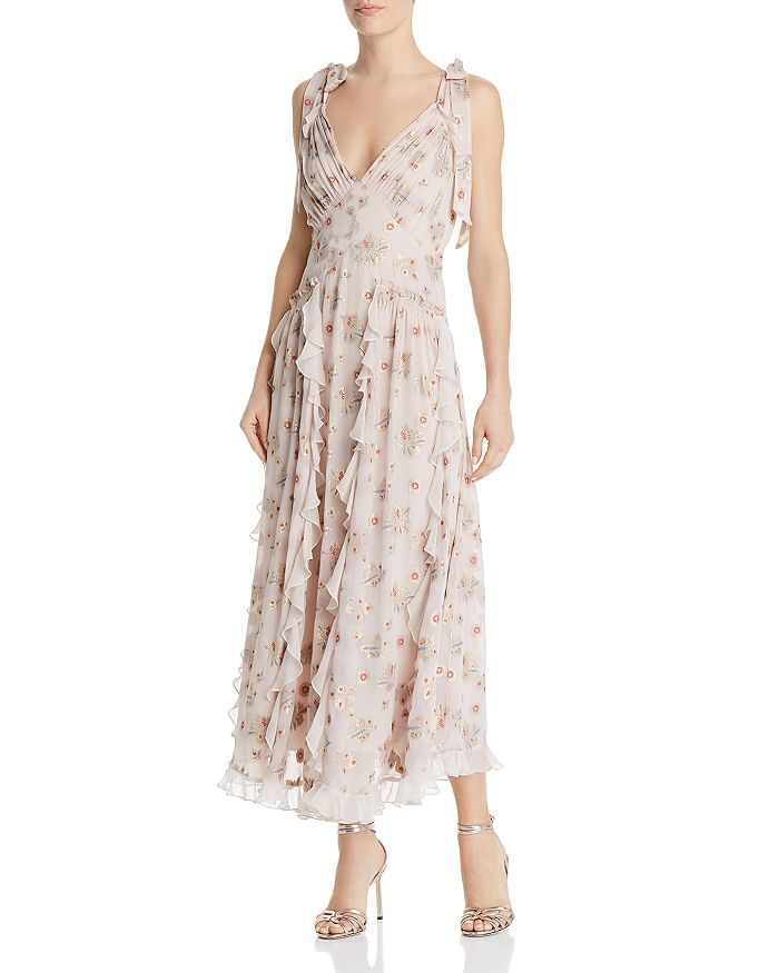 Rebecca Taylor - Leander Ruffled Floral Dress